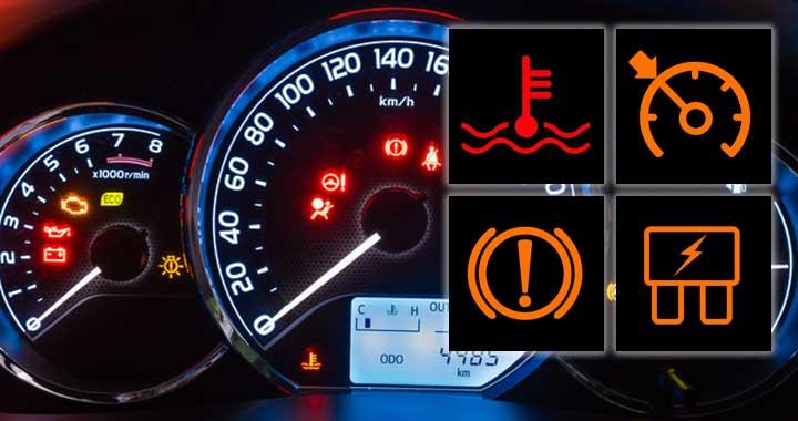 Kontrollleuchten Im Auto Adac