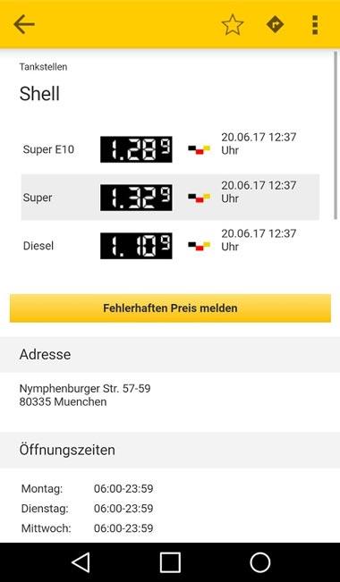 adac app tanken
