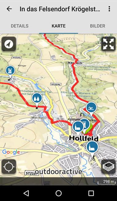 Wanderwege Deutschland Karte.Adac Wanderführer App