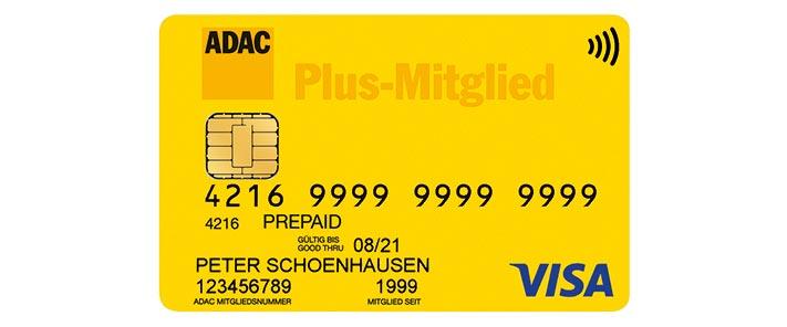 Adac Mitgliedskarte