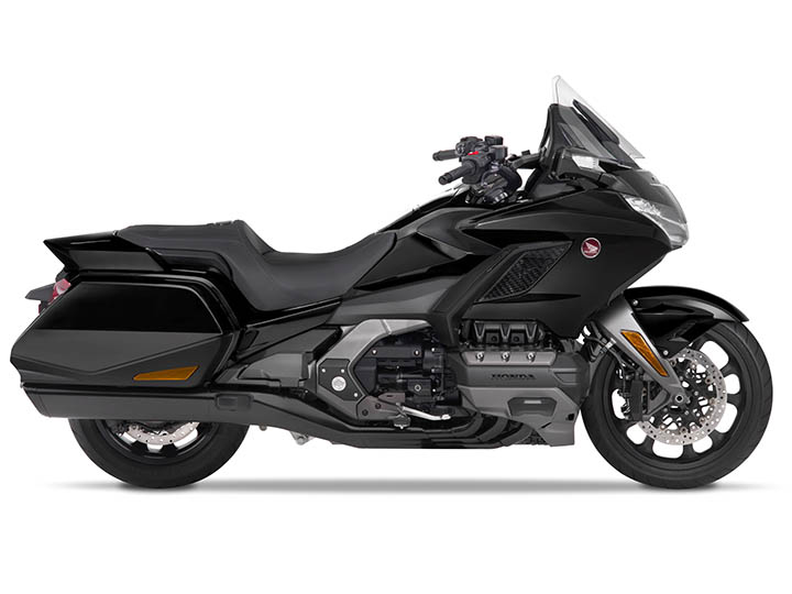 Honda GL 1800 Gold Wing (Darkness Black Metallic) Seitenansicht