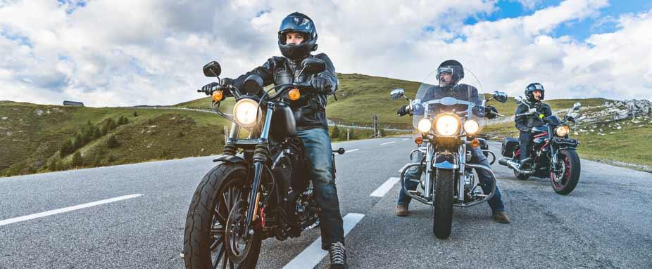 Ausgangssperre Motorrad Fahren