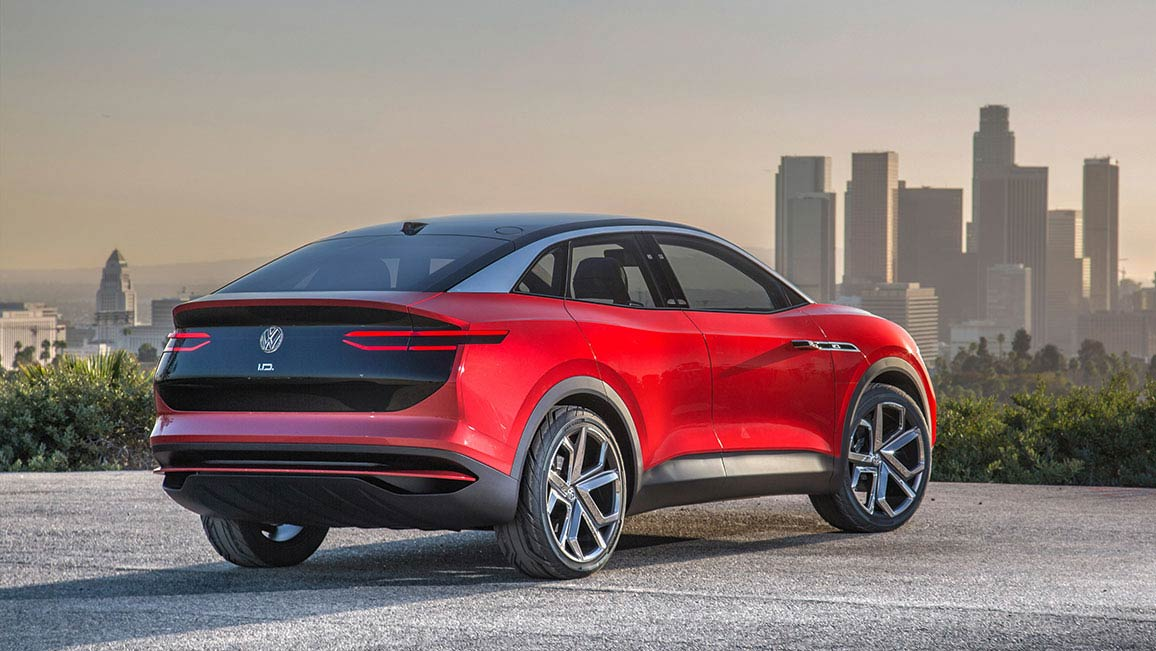 VW ID.4: VW zeigt sein Elektro-SUV – erste Testfahrt