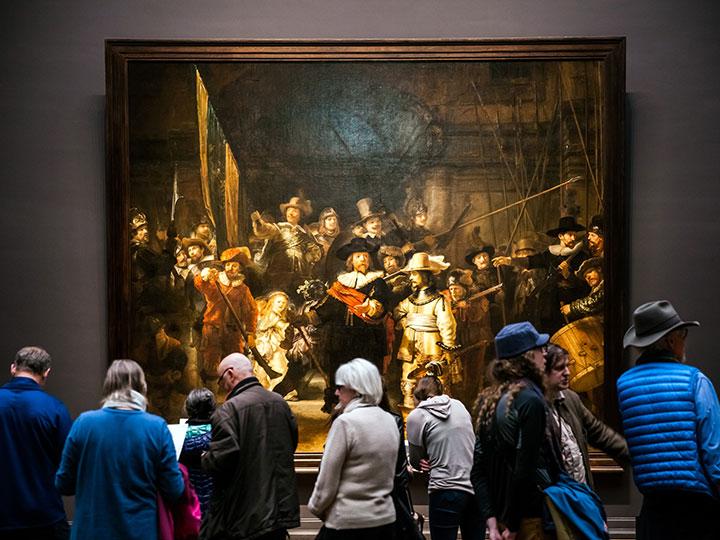 Rembrandt Tour Durch Amsterdam Adac
