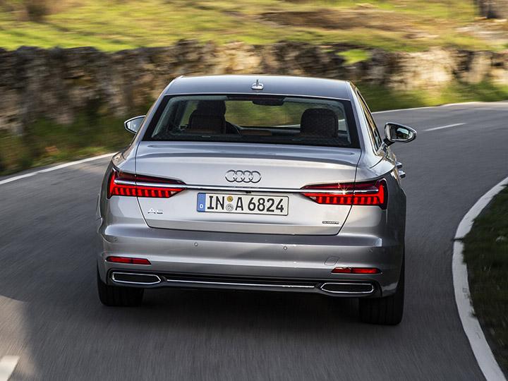 Audi A6 Limousine Testfahrt Und Crashtest Adac 2018