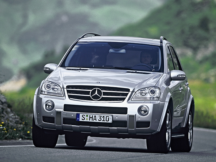 Mercedes Benz ML63  Frontansicht