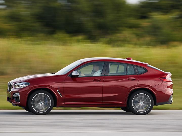 neuer bmw x4: das suv-coupé im test | adac 2018