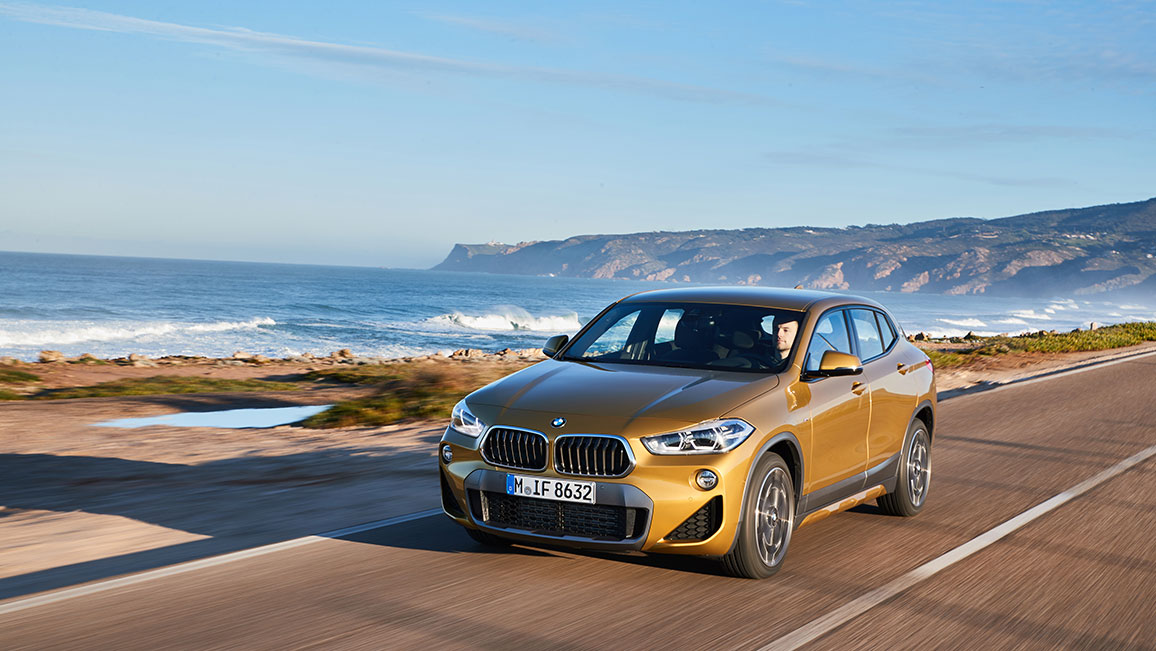 bmw x2 suv coup im test adac 2018. Black Bedroom Furniture Sets. Home Design Ideas