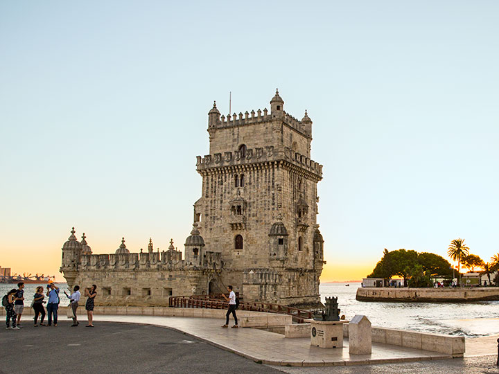 Der Torre de Belem in Portugal