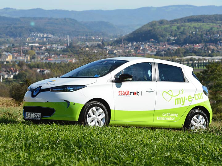 E-Car-Sharing Renault Zoe