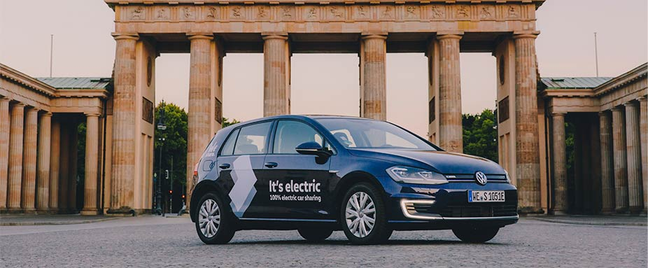 E-Car-Sharing VW E-Golf