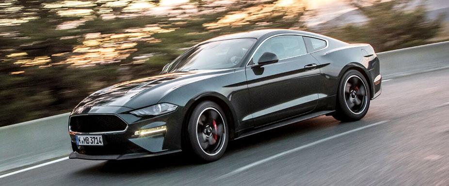Mustang Bullitt Erste Testfahrt Adac 2018