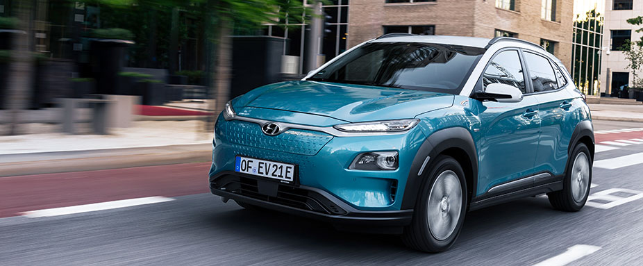 test hyundai kona elektro kleiner suv mit elektroantrieb. Black Bedroom Furniture Sets. Home Design Ideas