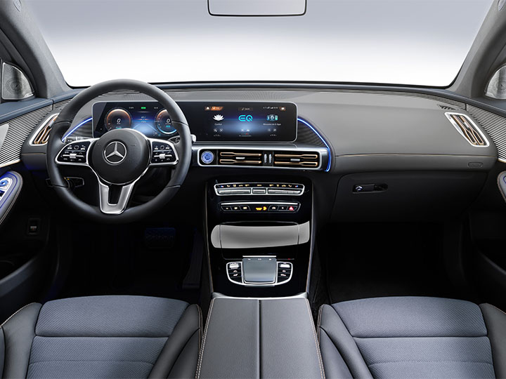 Mercedes EQC Cockpit