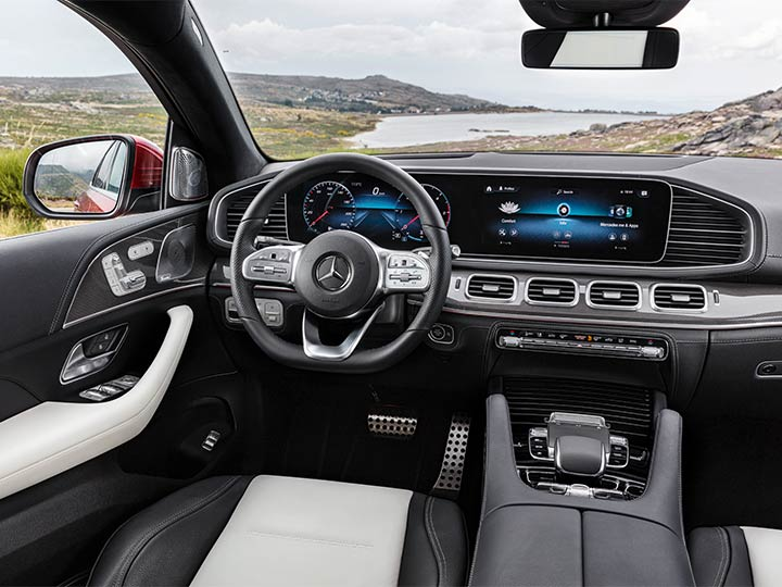 Mercedes GLE Coupè Cockpit