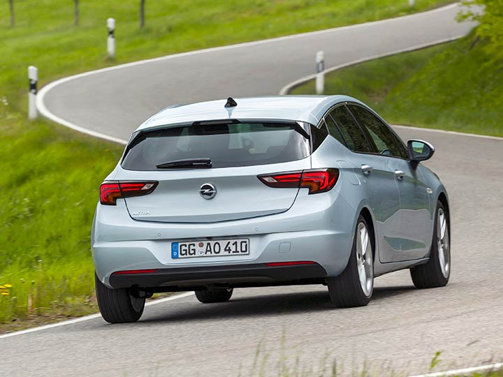 Opel Astra Heck