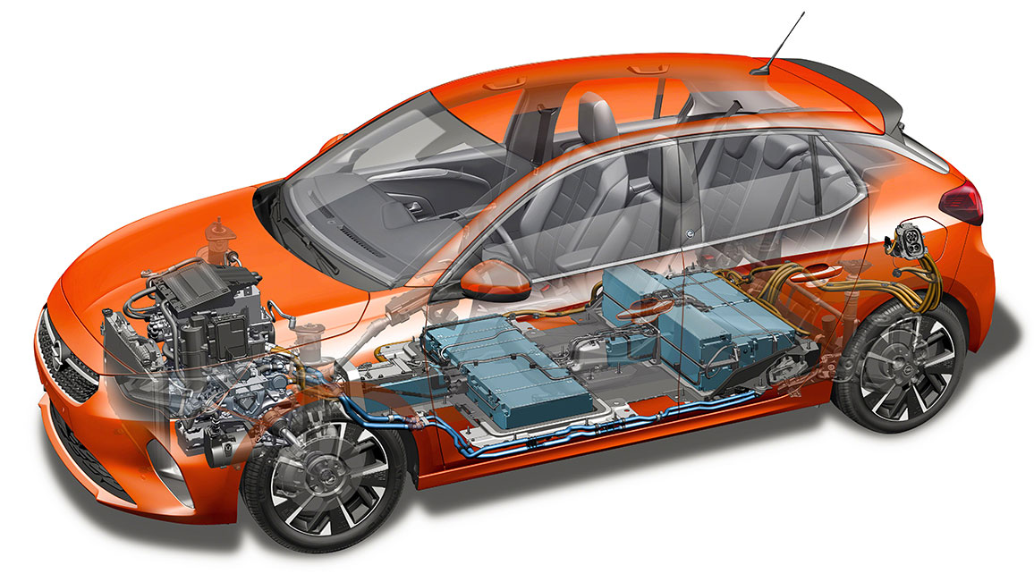Opel Corsa E Elektro 2020 Daten Reichweite Batterie
