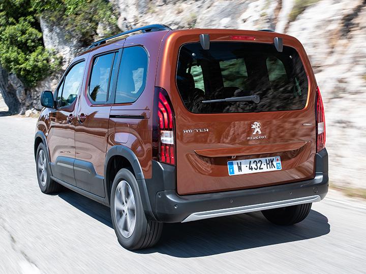 Peugeot Rifter So Schlägt Sich Der Familien Van Im Test Adac