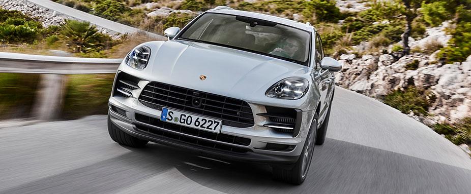 Edel Suv So Fahrt Der Neue Porsche Macan Adac 2018