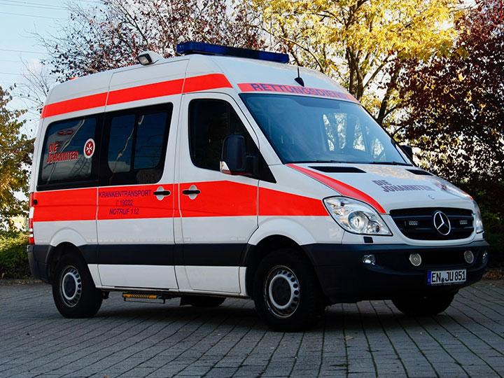 Krankenwagen Rettungswagen