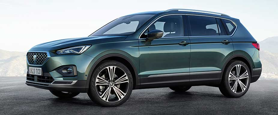 seat tarraco 2019 test video daten motoren preise adac. Black Bedroom Furniture Sets. Home Design Ideas