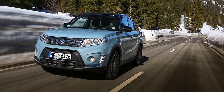 Suzuki Vitara 2019 Testfahrt Daten Allradantrieb Preise Adac