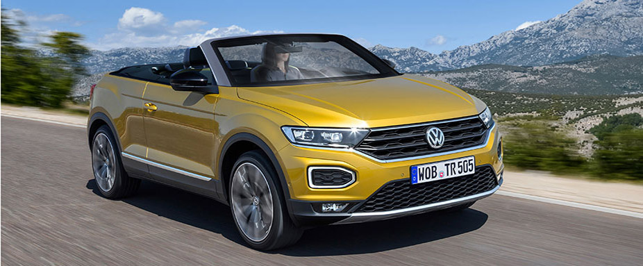 vw t roc cabrio 2020 fotos daten preis adac. Black Bedroom Furniture Sets. Home Design Ideas