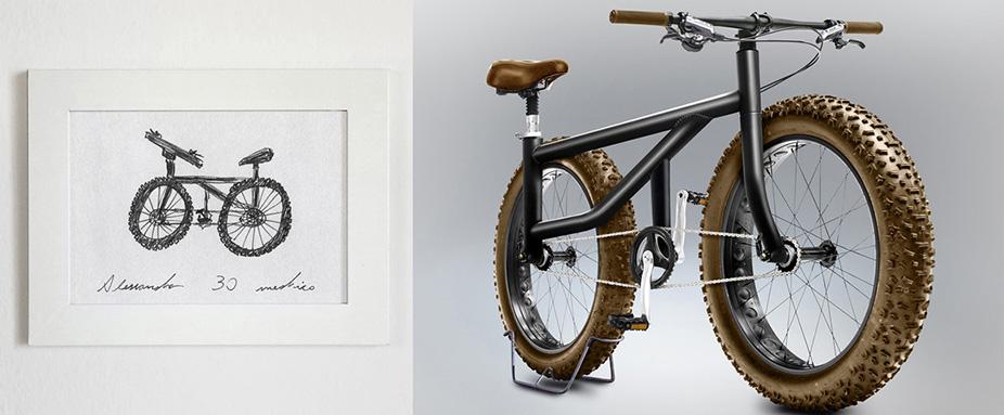 kunstprojekt wie aus laien skizzen fahrr der werden. Black Bedroom Furniture Sets. Home Design Ideas