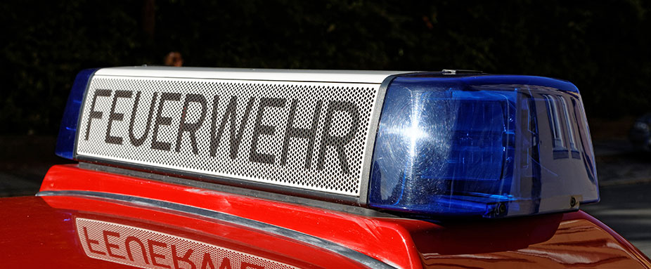Feuerwehr-Fahrzeuge benötigen spezielle Fahrberechtigungen