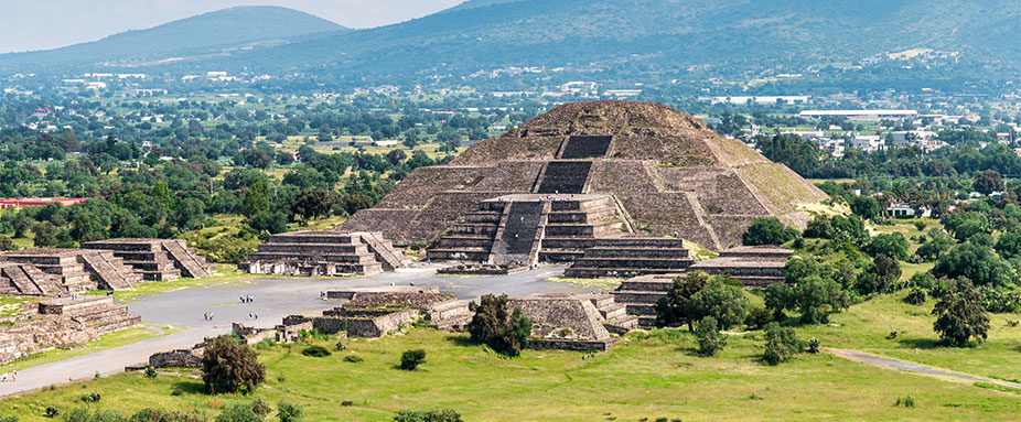 Teotihuacan Tempel in Mexico City