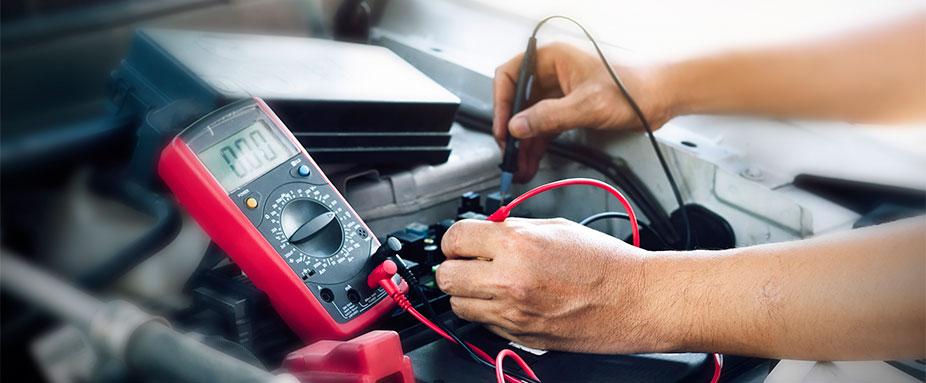 Pkw Ruhe Strom Verbrauch messen Ruhestrommessung am Kfz Amperemeter Strommesser