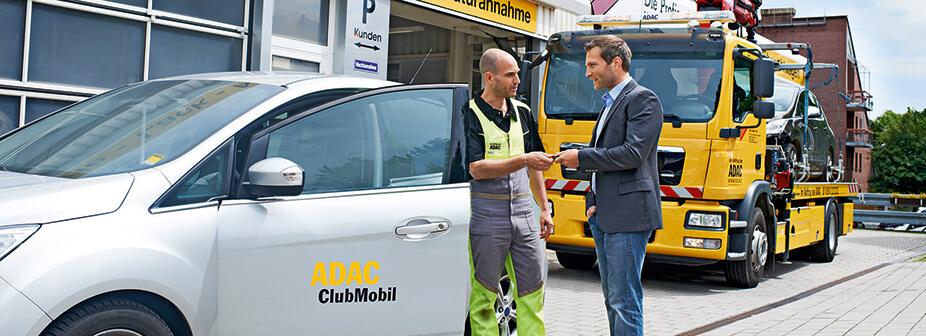 adac autoversicherung autounfall  tun