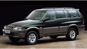 SsangYong Musso 1. Generation