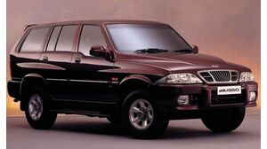 SsangYong Musso 2. Generation