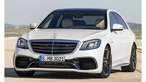Mercedes-Benz S 63 AMG lang 4MATIC+ 9G-TRONIC (06/18 - 05/19)