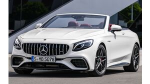 Mercedes-Benz S 63 AMG Cabriolet 4MATIC+ SPEEDSHIFT MCT 9G-TRONIC (07/20 - 09/20)