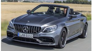Mercedes-Benz C 43 AMG Cabriolet 4MATIC AMG SPEEDSHIFT TCT 9G-TRONIC (07/18 - 05/19)