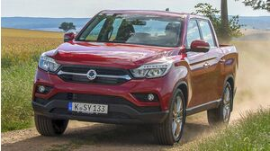SsangYong Musso 3. Generation